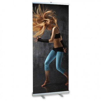 ROLLUP Basic 85 x 200 cm | Rollbanner | Roll-up | Roll UP | Bannerdisplay | Messeaufsteller | Banner | Displaybanner | Messebanner |