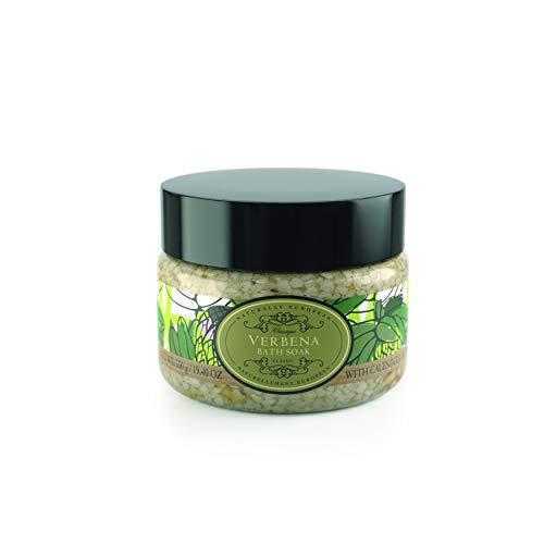 Naturally European Verbena Aromatic Bath Soak - Bath Salts 550g | Soothing Aching Muscles | Ease Stress