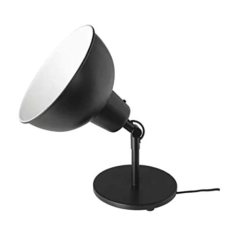 Ikea Skurup - Lámpara de mesa (A++), color negro