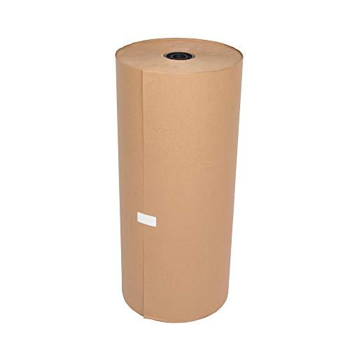 BB-Verpackungen 1 x Natronmischpapier 0,5 x 300 m (Packpapier braun reißfest, Kraftpapier, Verpackungsmaterial) - Sets zwischen 1 und 10 Rollen