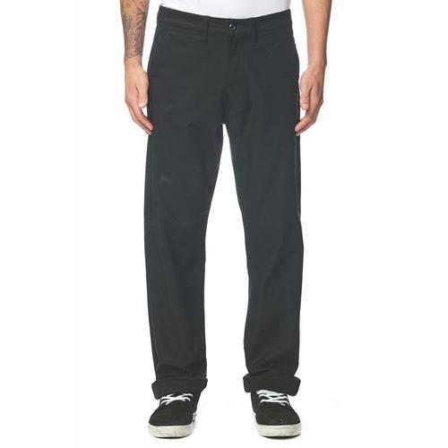 Globe Herren Appleyard Pant Relaxed Fit Hose, schwarz, 30