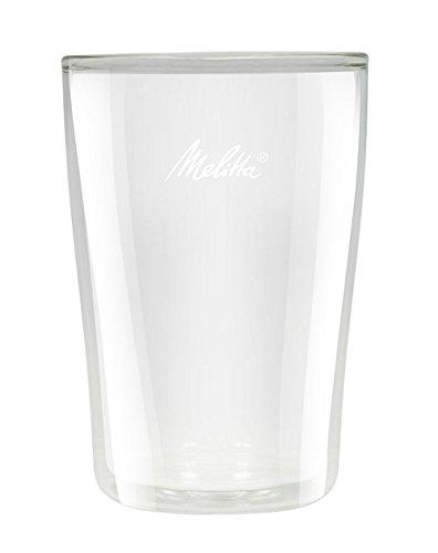 Melitta Glas-Set, Latte-Macchiato-Gläser, 2 Stück, Doppelwandig, Borosilikatglas, 200 ml, 212910