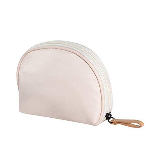 Yecia Sac de maquillage de rangement de voyage Sac de sac semi-circulaire avec mini sac de lavage Sac de voyage cosmétique multifonctionnel et portable