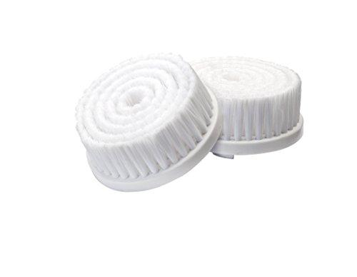 Silk\'n SonicClean Ersatzbürste Soft, Mikrofaserbürste, 2er Pack Bürstenaufsätze