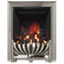 Be Modern Avantgarde Slimline Inset Gas Fire Chrome