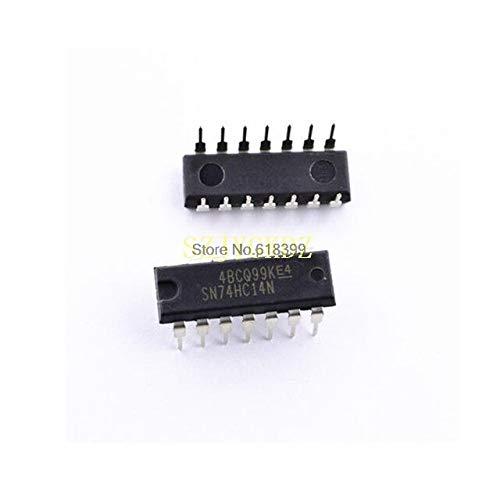 10 STÜCKE Sn74hc14n 74hc14n Wechselrichter Schmitt Trigger 6-element Cmo 14-pin Pdip 74hc14
