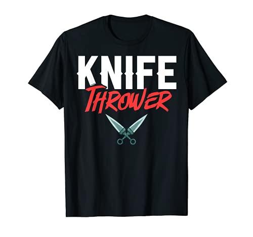 Jeu de lancer de couteaux Lanceur de couteaux débutant T-Shirt