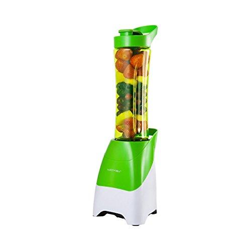 Emerio To Go Batidora de vaso 0.6L 250W Verde - Licuadora (0,6 L, Batidora de vaso, Verde, Acero inoxidable, 250 W, 145 mm)