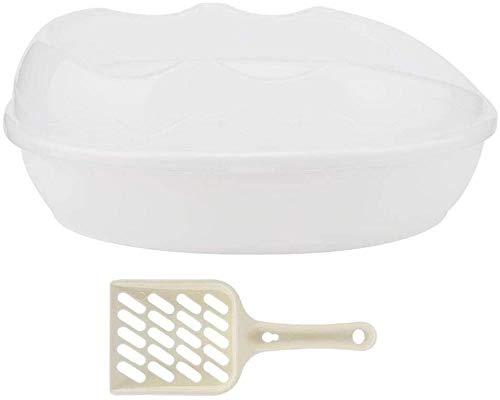 gengxinxin Vaschetta per Animali Domestici semichiusa vaschetta in plastica a Tenuta stagna vaschetta Rimovibile vasino, con Pala, nessun residuo