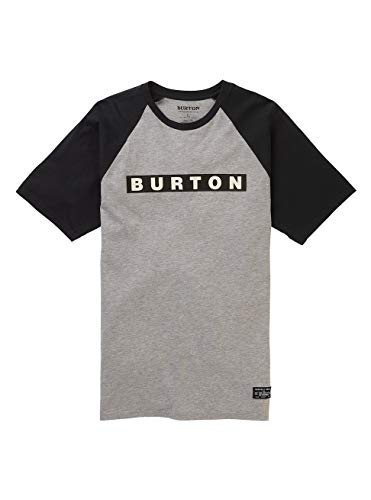 Burton Herren Vault T-Shirt, Gray Heather, XS