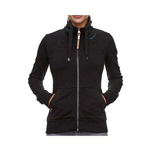 Ragwear BALIA Zip Hoodie Black (XL)