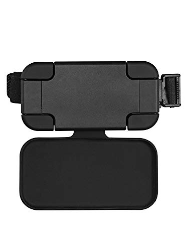 """Car phone mount and iPAD Headrest Mount, 360°Rotation Velcro Tablet Holder for Car Back Seat, Angle Adjustable and Universal Car, Wide Compatible from 4.7 Smart Phone - 12.9"""" iPad Apple,Samsung,Google"""