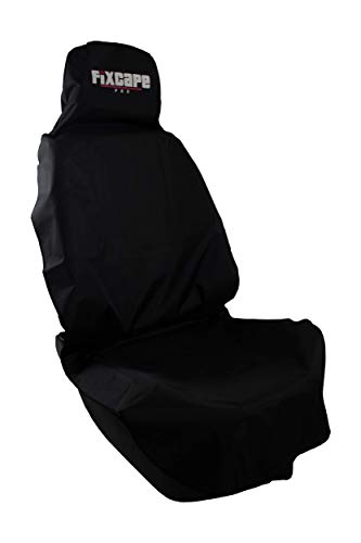 fixcape PRO universal Schonbezug und Auto-sitzbezug für Fahrersitz und Vordersitze wasserdicht