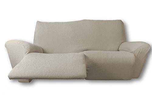 FRESH HOME HOME TEXTILES Funda de sofá elástica Relax Fun (Natural, Sofá Relax 3 plazas.)