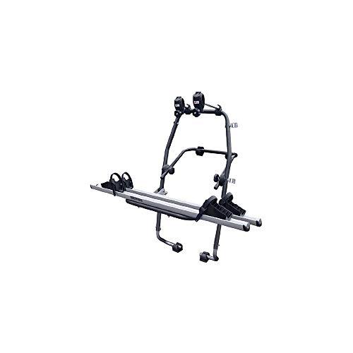 MENABO 000063400000 Stand Up Soporte de Bicicletas en Acero Inoxidable con 2 Carriles en Aluminio