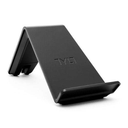 TYLT VU Qi Wireless Phone Charging Pad (Black, 3 Coil) Tilted Stand &...