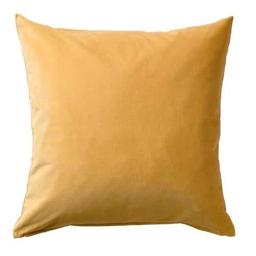 SANELA IKEA Kissenbezug in Goldbraun; 100{1e420e4659fb1e7357a8d73d7ad40800c23db248a2c030af05aefac568530fe4} Baumwolle; (50x50cm)