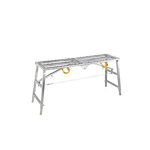 CKQ-KQ Ladder Vouw multifunctionele Thicken Decoration Portable Horse Kruk Rise Drop Steiger Techniek Platform Kruk Ladder (Color : 140cm*30cm)