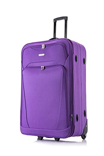 Flymax 32' Extra Large Suitcase Lightweight Luggage Expandable Hold Check in Travel Bag on Wheels