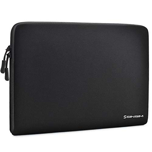 SINSIM 12.5 - 13 inch laptop case for 13.5 inch Surface Laptop 2 3 2019/13 inch MacBook Pro A1706 A1708 Lenovo ThinkPad X390 X395 ThinkPad L13 / Asus ZenBook 14 Flip 13, black