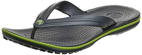 Crocs Crocband Flip Infradito, Unisex - Adulto, Grigio, 43/44 EU