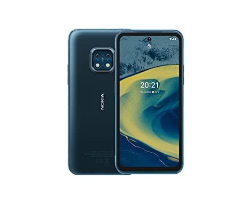 Nokia XR20, 6.67″ Full HD+ Bildschirm, 48MP Dual Kamera mit ZEISS-Optik, 15W Drahtlos- & 18W-Schnellladung, RAM 4GB/ ROM 64GB, Bedienbar mit nassen Händen & Handschuhen - Ultra Blue