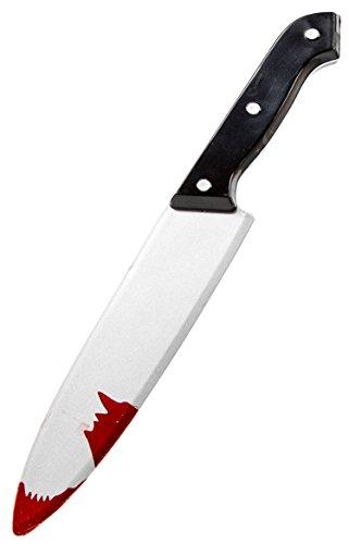 Spielzeug Messer Küche Verkleidung Knife Beil Blut Karneval Halloween Klinge Horror Gruselig