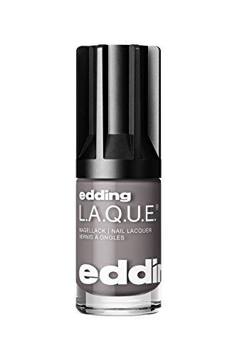 edding L.A.Q.U.E. > Nagellack Nail Lacquer 194 Greedy Grey 8 ml