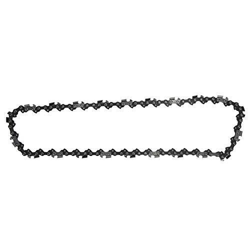 Cadena de sierra, resistencia a la tracción 44 dl, cadena de alimentación inalámbrica con metal (plata)