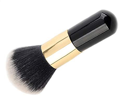 LUCKLYSTAR® Professioneller Make-up-Pinsel, tragbar, runder Kopf, für Flüssigkeiten, Grundierung B B1