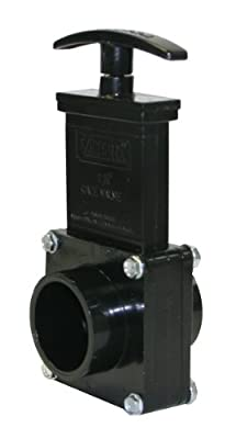 """Valterra 7103 ABS Gate Valve, Black, 1-1/2"""" Spig from Valterra Products"""
