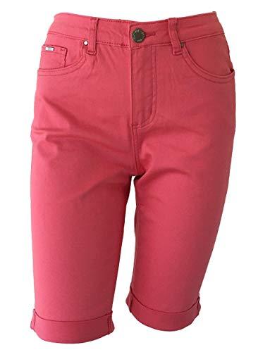 FDJ French Dressing Jeans Women s Olivia Bermuda Shorts, Sangria (12)