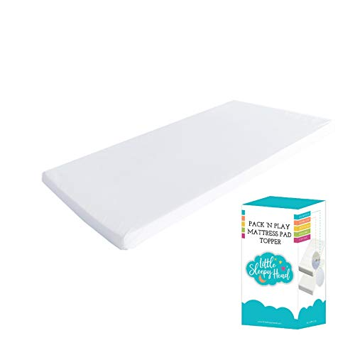 Pack N Play Mattress Pad Comfy Memory Foam for Playpen and...