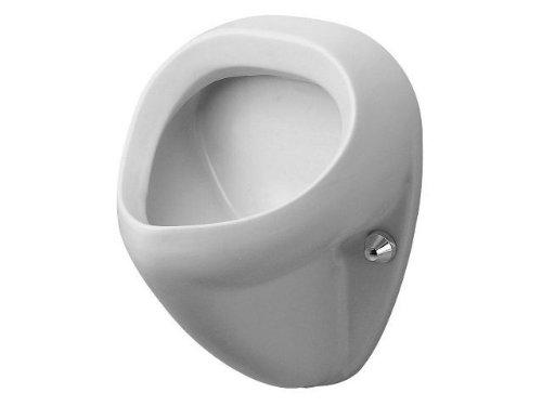Duravit Urinal Bill, Zulauf von hinten, ohne Deckel mit Fliege, weiß 851350007, 851350007