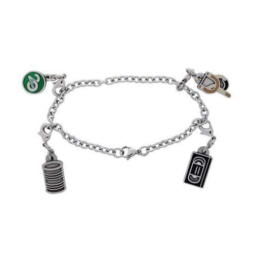 Groundspeak Celebrating 20 Years of Geocaching Charm Trackable Bracelet