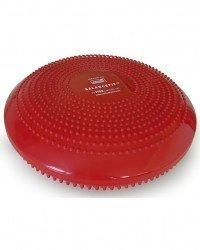 SISSEL Balancefit, Luftgefülltes Sitzkissen mit Noppen, Ø 32 cm, rot