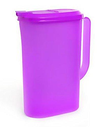 Tupperware Ezy Cool Jarra de 2 litros | Tupperware Slim Jarra de 2 litros   2 cuartos (morado)