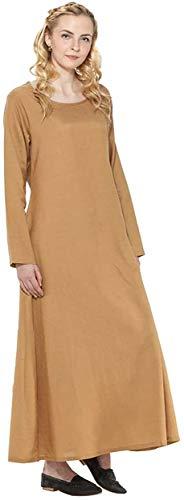 ThePirateDressing Medieval Renacimiento Pirata Vikingo LARP Disfraz para mujer Magdalena Underwear Dorado Oro Dull 50