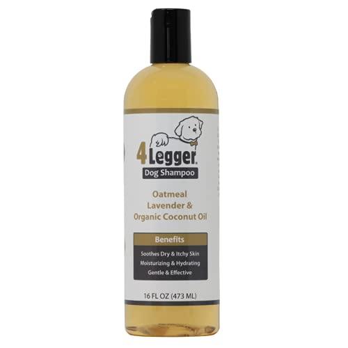 4-Legger Certified Organic Oatmeal Dog Shampoo