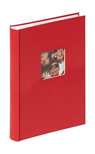 walther design ME-111-R Memo-Einsteckalbum Fun, 300 Fotos 10x15 cm, rot