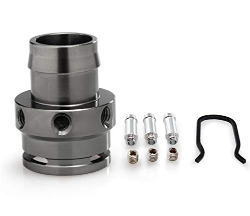 NO LOGO 1pc Turbo Boost Tap for l'adattatore del sensore di VW Audi 2.0T FSI STI TFSI MK5 GTI B7 A3 A4 TT 06-13 Vuoto