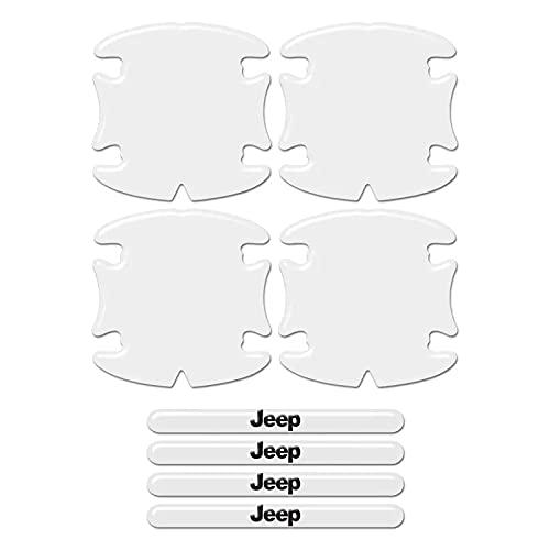Adesivos Protetor Maçaneta Jeep Renegade Compass Resinado