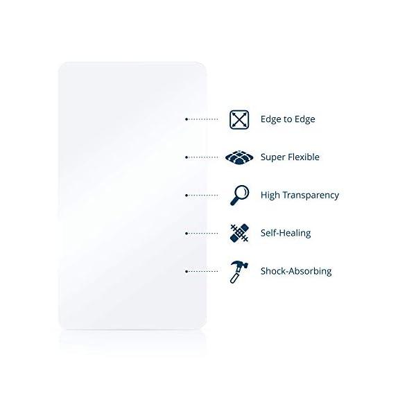 "BROTECT Protector Pantalla Completa Compatible con Willful Fitness Tracker 1.3"" (2 Unidades) 3D Curvo 5"