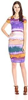 فستان فيرست بكتف بارد للنساء من جيسيكا سيمبسون