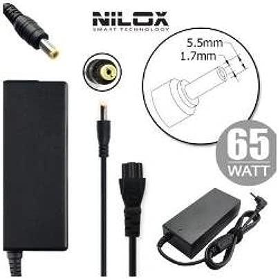Nilox Netzteil f r Notebook 19 nbsp V 3 42 nbsp A 5 5 nbsp mm 1 7 nbsp mm schwarz Schätzpreis : 29,26 €
