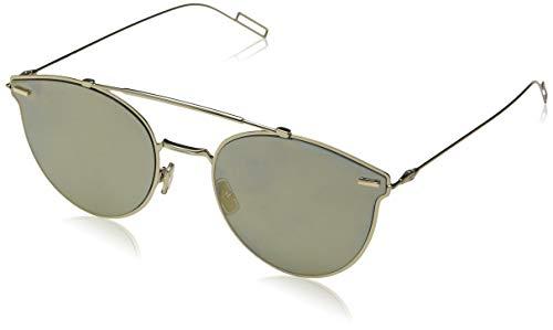 Dior Herren DIORPRESSURE WM J5G 57 Sonnenbrille, Gold (Gold/Gd Gold)