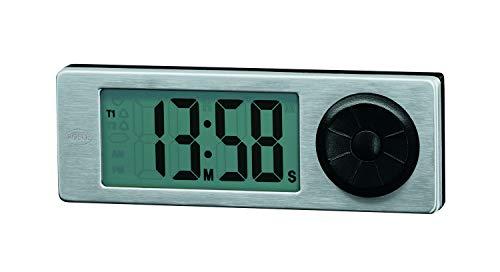RÖSLE Mulit-Timer digital, ABS, Edelstahl 18/10, Länge 13,5 cm, magnetische Rückseite, einfache Bedienung