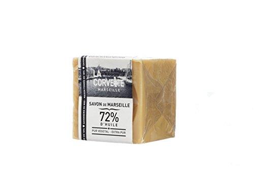 La Corvette Cube de Savon de Marseille Extra Pur Ecocert Film 200 g