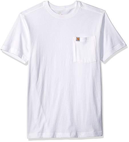 101125.100.S004 - T-shirt Maddock avec poches - Small - Noir - Carhartt