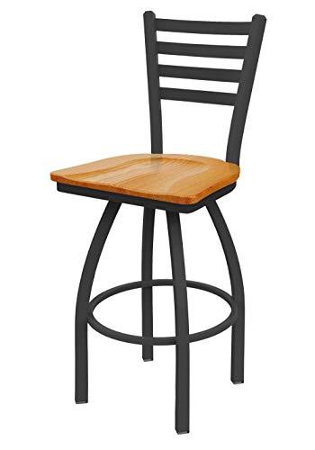 Holland Bar Stool Co. 41025PWMedOak 410 Jackie Swivel Counter Stool, 25